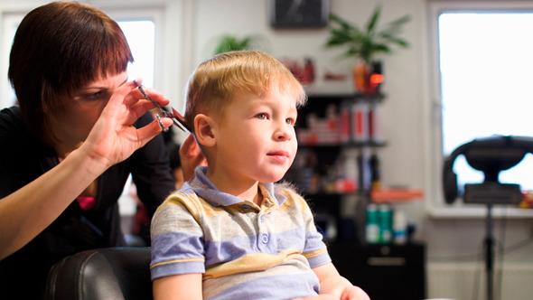 Getting A Haircut 20