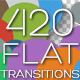 Flat Transitions Pack - VideoHive Item for Sale