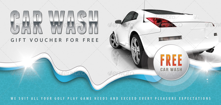 car wash gift voucher v12 by rapidgraf