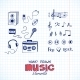 Sketch of Music Elements - GraphicRiver Item for Sale
