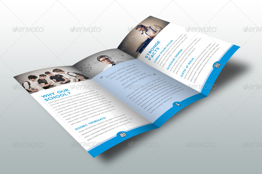 School Brochure Template By Braxas | Graphicriver