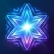 Abstract Shining Cosmic Star - GraphicRiver Item for Sale