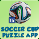 Facebook Soccer Cup Puzzle Application - CodeCanyon Item for Sale
