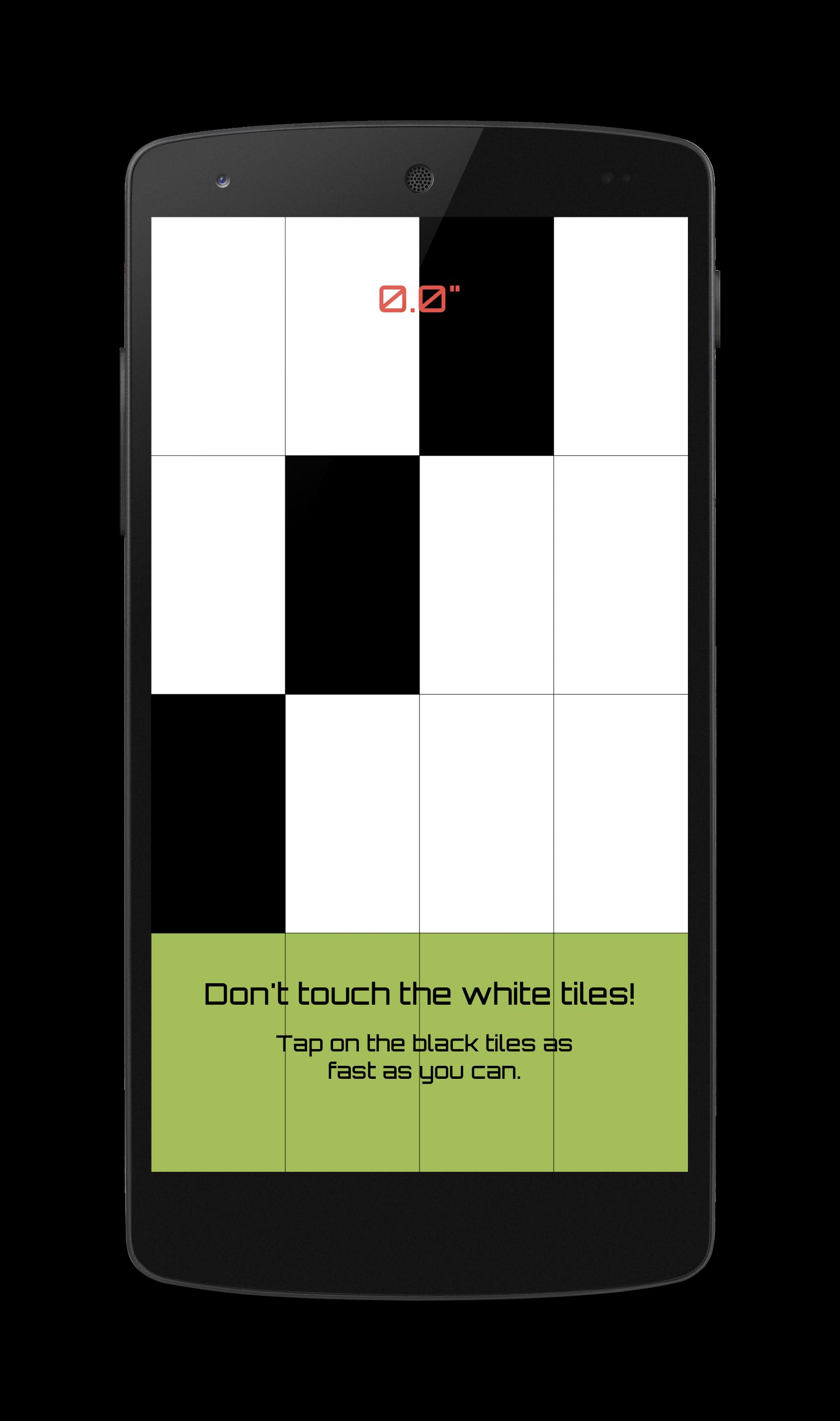 dont tap the white tile 3d apk