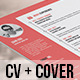 Resume and Cover Letter - GraphicRiver Item for Sale