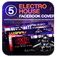 05 Electro House Facebook Covers - GraphicRiver Item for Sale