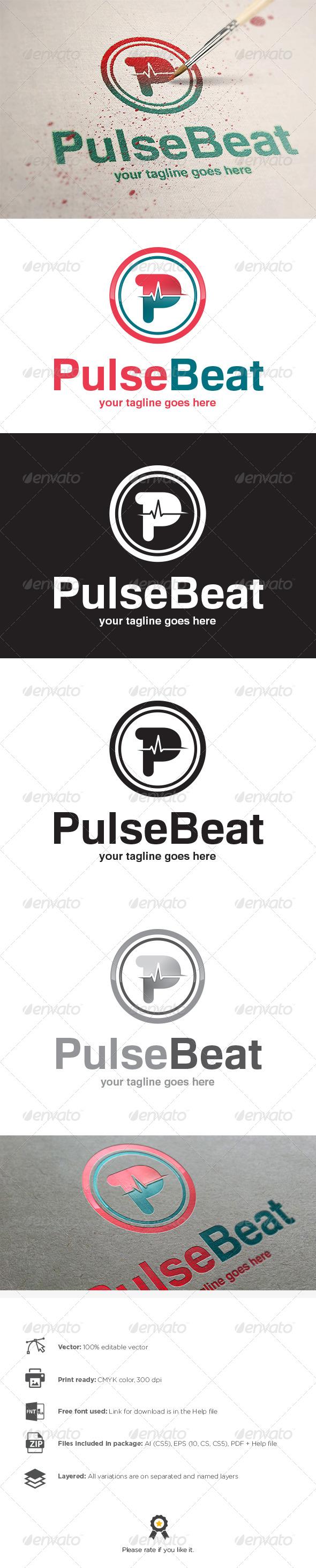 Pulse Logo - Letters Logo Templates