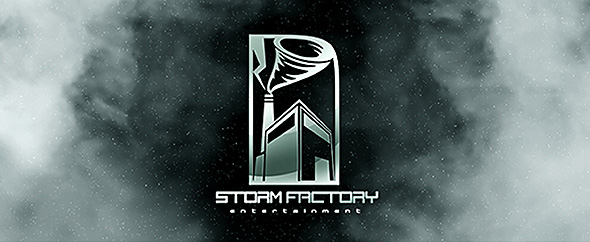 Storm factory logo banner envato 590x242