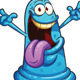 Happy Cartoon Monster - GraphicRiver Item for Sale
