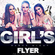 Flyer Party Full Girls Night - GraphicRiver Item for Sale