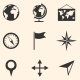 Set of Geography Icons