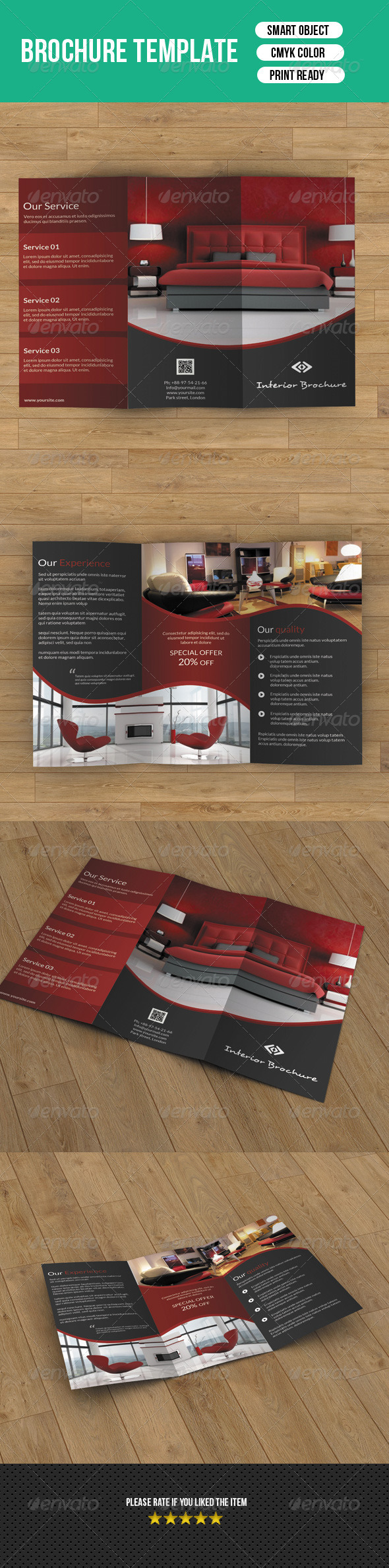 Trifold Business Brochure-V29 - Corporate Brochures