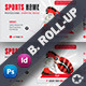 Sports Billboard Roll-Up Templates - GraphicRiver Item for Sale