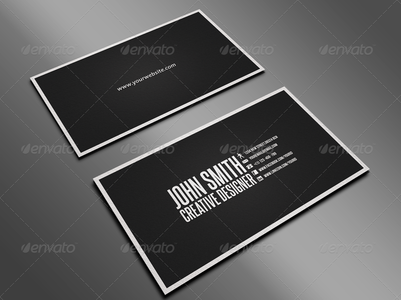 Clean Business Card Bundle by Nyz | GraphicRiver