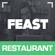 Feast - Facebook Fanpage & WordPress theme Nulled