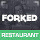 Forked - Responsive Restaurant & events