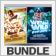 Summer Party Flyers Bundle 1 - GraphicRiver Item for Sale