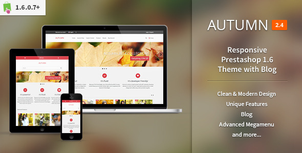 Autumn – Responsive Prestashop 1.6 Theme with Blog