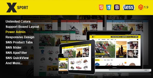 SNS Xsport – Premium Responsive Magento Theme