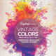 Vintage Colors Flyer Template - GraphicRiver Item for Sale