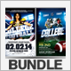 Super Football Flyer Bundle - GraphicRiver Item for Sale