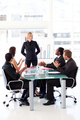 Business people clapping their manager - PhotoDune Item for Sale