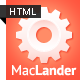 MacLander - Premium HTML App Site Template - ThemeForest Item for Sale