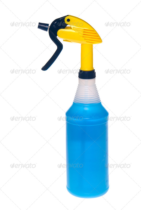 Spray bottle of cleaner - Stock Photo - Images
