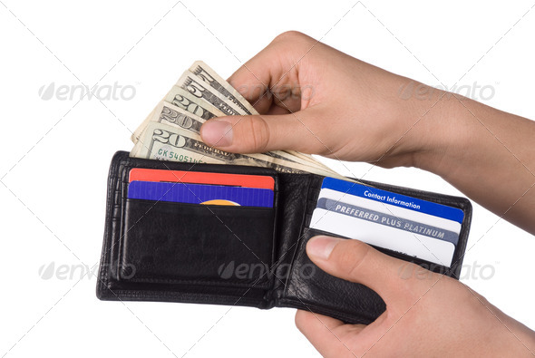 Paying bills - Stock Photo - Images