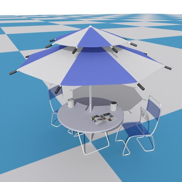 Parasol & Chair set