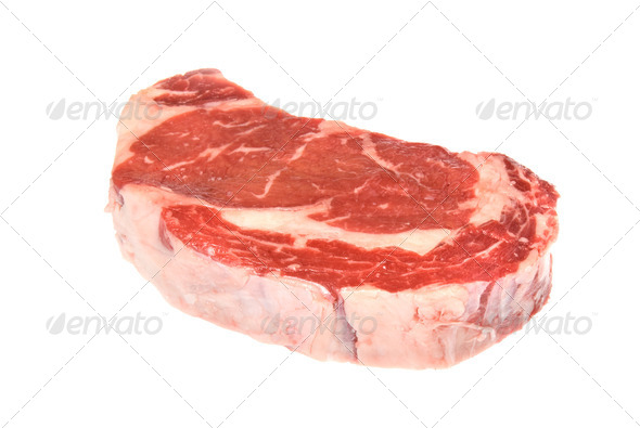 Raw steak - Stock Photo - Images