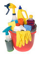 Bucket of cleaning supplies - PhotoDune Item for Sale