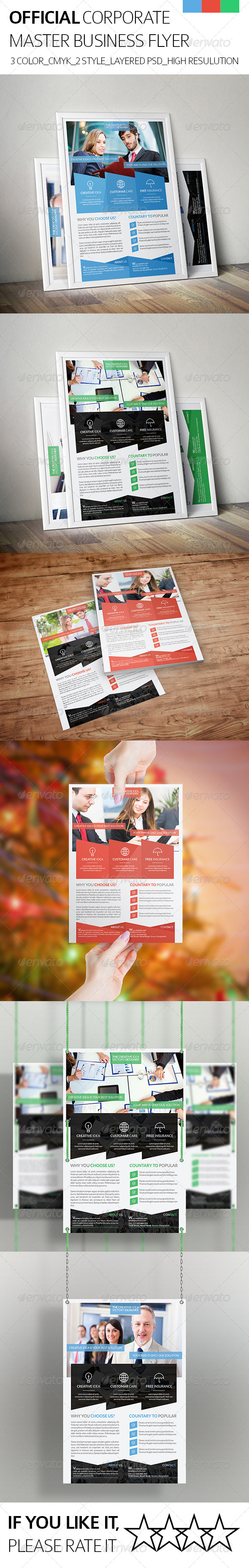 Official & Corporate Business Flyer - Corporate Flyers