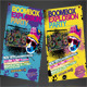 Boombox Party Flyer Template - GraphicRiver Item for Sale
