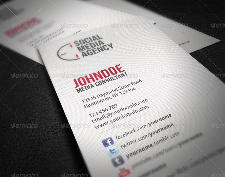 Social Media Business Card by glenngoh | GraphicRiver