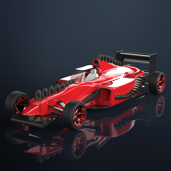 racing car - 3DOcean Item for Sale