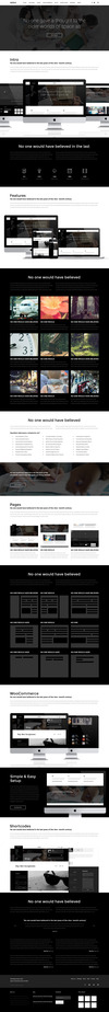 03 exico one page parallax.  thumbnail