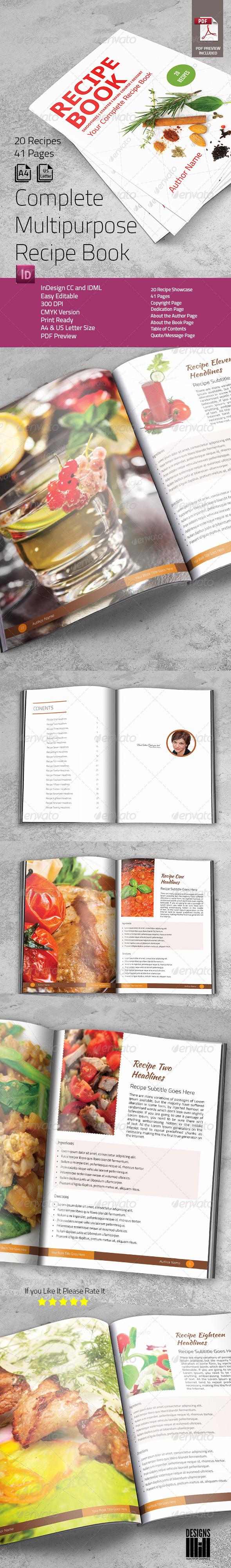 Complete Recipe Book - Informational Brochures
