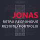 Jonas - Retro Responsive Resume / Portfolio - ThemeForest Item for Sale
