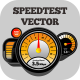 Internet Speed Test Dashboard - GraphicRiver Item for Sale