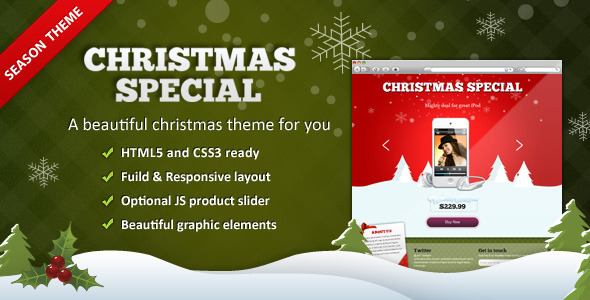 XMAS Season - Landing Pages Marketing