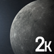 Moon in Space - VideoHive Item for Sale