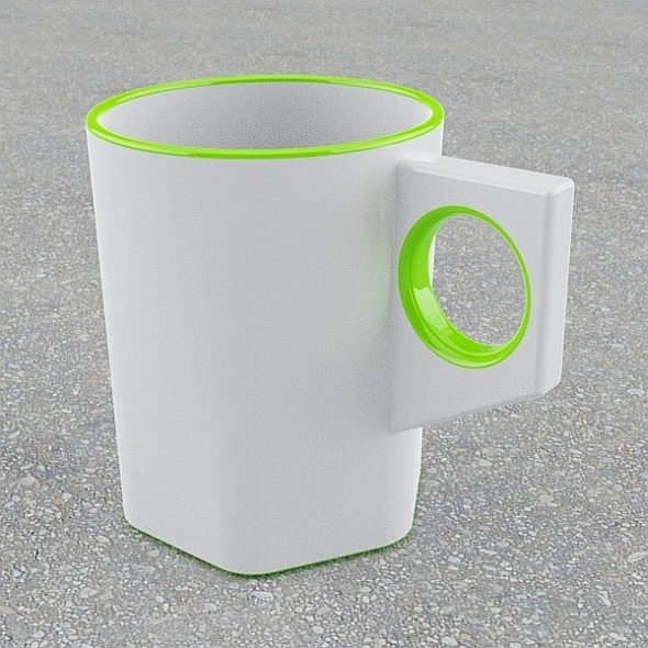 Simple stylish mug - 3DOcean Item for Sale