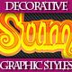 Set of Fantastic Colorful Graphic Styles - GraphicRiver Item for Sale