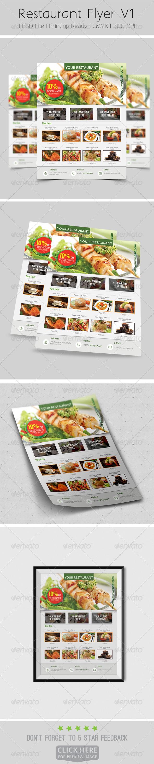 Restaurant Flyer V1