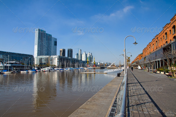 Puerto Madero in Buenos Aires - Stock Photo - Images