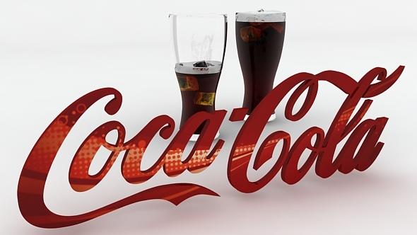 coca-cola_logo_render_setupconnector_cs | 3docean, Modern powerpoint