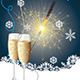 Card with Champagne - GraphicRiver Item for Sale