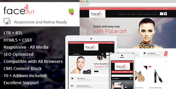 Face Art – Prestashop Responsive Theme