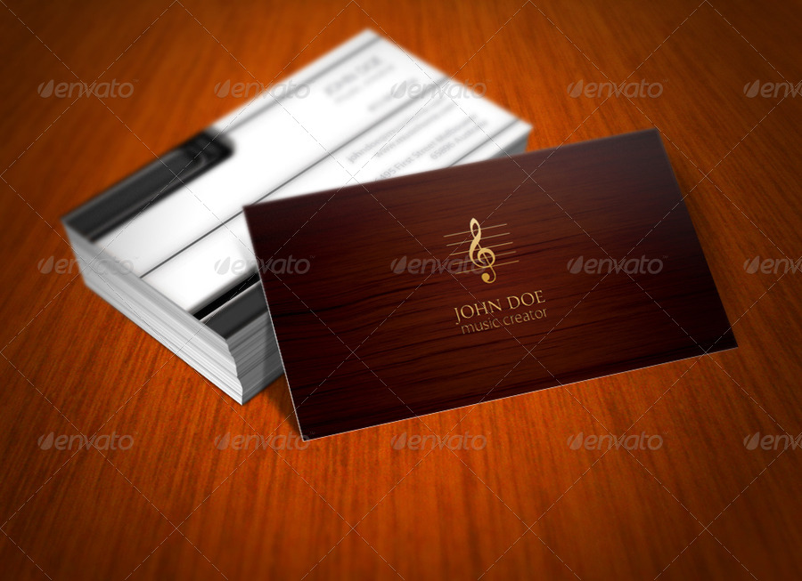 3 piano business card by progmatika graphicriver 3 piano business card colourmoves